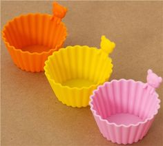 Shenzhen Jewelives---top ten silicone manufacturer Rilakkuma bear mini silicone bowls 3 pcs Bento cups Http://www.globalsources.com/jewelives.co Kristy.yang@jlssilicone.com