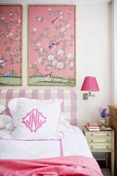 sadie + stella: Monday Musings: Real men let their ladies decorate in pink
