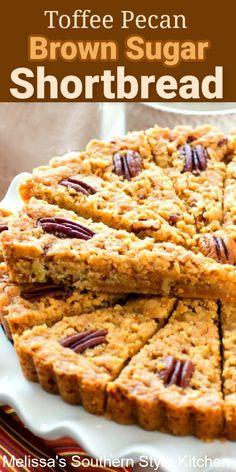 Breakfast Dessert, Pie Dessert, Cookie Desserts, No Bake Desserts, Cookie Recipes, Toffee, Best Dessert Recipes, Delicious Desserts, Pecan