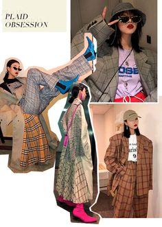 Fashion Sketchbook, Fashion Sketches, Asian Fashion, Korean Street Fashion, Fashion Portfolio Layout, Fashion Graphic Design, Fashion Collage, Grafik Design, Mode Style