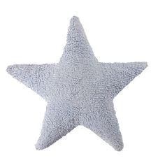Almofada estrela azul 50x50cm