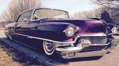 Cadillac : DeVille Deville 1956 Cadillac Coupe Deville, Kustom, Hot Rod, Street Rod, not Chopped, Bagged