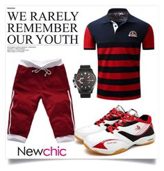 """""""New chic 9"""" by zbanapolyvore ❤ liked on Polyvore featuring men's fashion and menswear"""