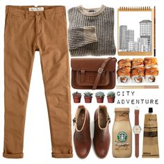 City Adventure by evangeline-lily on Polyvore featuring polyvore, fashion, style, Jack Wills, Acne Studios, The Cambridge Satchel Company, J.Crew, Aesop and Crate and Barrel