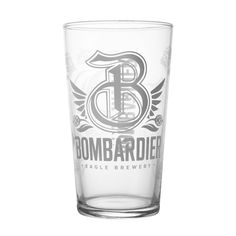 Bombardier ölglas 1 pint - England - Ölglas - Barshopen.com Wells, Pint Glass, Brewery, Ale, England, Beer Glassware, Ales, British, Wels