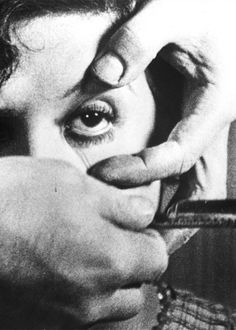 Un chien andalou! Love it!!!!