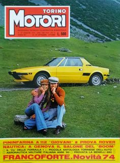 Fiat X1/9 Torino Motori N°127 1973 Fiat, Formula 1, Sports, Hs Sports, Sport