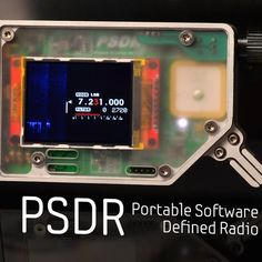 The PSDR is a completely stand-alone (no computer needed), compact, Portable Software Defined Transceiver (hence the name, sorta). Originally designed for backpacking use by Ham Radio operators. It includes complete coverage up to about 30Mhz (plus 144Mhz), it has a 168Mhz ARM processor, color display, and an innovative interface.  Vector Network Analysis (which includes antenna analysis) and GPS functions are included.  The entire design is Open Source. The electronics are designed and laid…