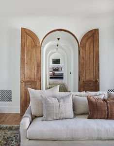The full before and after reveal of Client What's The Story Spanish Glory, a Spanish-style home in California designed by Amber Lewis of Amber Interiors. Spanish Revival Home, Home Decor Inspiration, House Design, House, Home, House Styles, House Interior, Interior Design, Home And Living