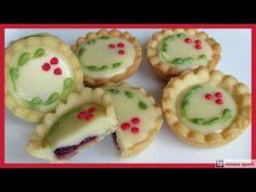 Tartaletky s náplní z bílé čokolády. - YouTube Sushi, Ethnic Recipes, Youtube, Anna, Food, Eten, Meals, Sushi Rolls, Diet