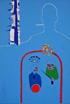 "Saatchi Art Artist Andrea Marchesini; Painting, ""Antithesis"" #art"