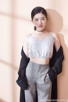 White Fashion, Girl Fashion, Fashion Outfits, Womens Fashion, Beautiful Girl Makeup, Beautiful Asian Girls, Prity Girl, Girl Celebrities, Korean Celebrities