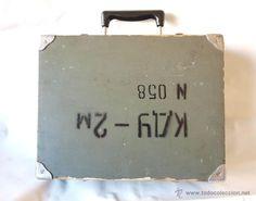ANTIGUO MALETIN MILITAR RUSO DE LA 2ª GUERRA MUNDIAL PARA TELEFONO O COMUNICACIONES / Segunda Guerra Mundial en todocoleccion