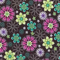 Michael Miller boho cotton fabric.