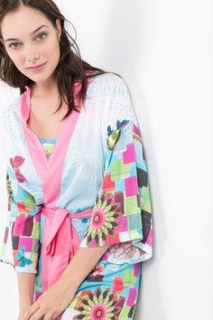 Homewear Desigual Kimono Mojito