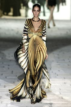 Roberto Cavalli at Milan Fashion Week Spring 2007 - StyleBistro
