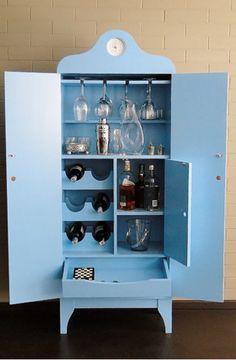 Wine Cabinets, China Cabinet, Shoe Rack, Home Furnishings, Lockers, Locker Storage, Furniture Design, Liquor, Home Decor