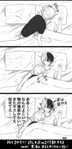 Todoroki Shouto x Bakugou Katsuki || 2/2