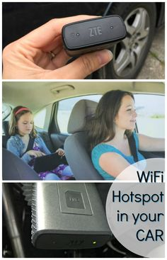Would you like to have wifi on your next road trip? This car mobile hotspot is great for kids so they can download a new app or book while on the road!