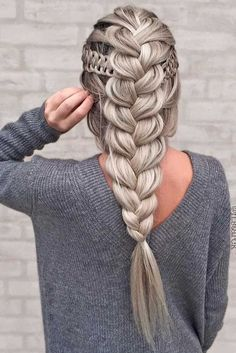 Everything you need to know about braid styles is right here. We talked to stylists for how-to tips to create everything from waterfall braids to fishtail braids. Fancy Hairstyles, Braided Hairstyles, Hairstyle Braid, Gorgeous Hairstyles, Hairdos, Pinterest Hair, Beautiful Braids, Hair Designs, Hair Looks