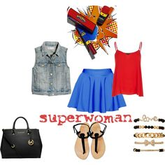 """Super Woman"" by ketiablanc on Polyvore"