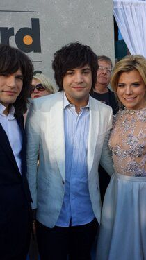 The Band Perry is ready to rock! Country Singers, Country Music, The Band Perry, Awards, Songs, Rock, Skirt, Locks, The Rock