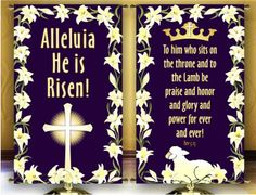 Easter Church Banners