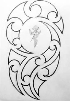 [fineliner + pencil - August Maori-inspired design for my brother& tattoo. Maori Tattoo Designs, Tattoo Designs And Meanings, Tattoos With Meaning, Maori Tattoo Arm, Hawaiianisches Tattoo, Samoan Tattoo, Printable Tattoos, Maori Symbols, Hawaiian Tribal Tattoos
