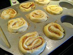 Mardi Gras King Cakes recipe, like individual cinnamon rolls..can't wait to try these!