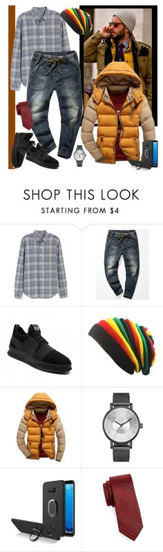 """""""Casual Cool"""" by carola-corana ❤ liked on Polyvore featuring Bonobos, Black Brown 1826, men's fashion, menswear, blackfriday, cybermonday and rosegal"""