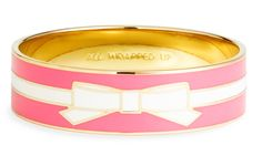 "Kate Spade- ""All Wrapped Up"".  Love the PINK and love the bow!"