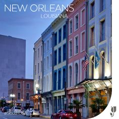 @Kate McCulley picked a great first stop for her #SouthUSA road trip: New Orleans!  She'll be staying right in the heart of the city at our New Orleans French Quarter hotel.