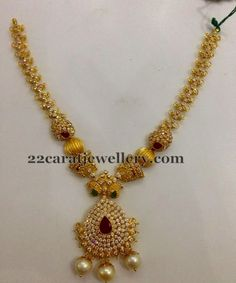 CZ Uncut Necklaces for Kids and All Ages | Jewellery Designs