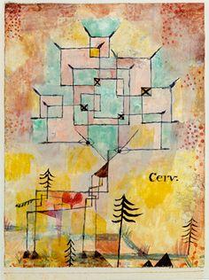 Paul Klee, Der Hirsch [Le Cerf], 1919