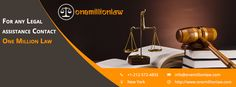 One Million Law understands exactly what you need and has brought together some of the best minds involved in legal field, it will help you in availing the due rights. We are of the opinion that each one of you must be aware of family laws, immigration laws, incorporating a business, getting trademarks, patents and copyrights and take care of other vital legal issues.http://www.onemillionlaw.com/