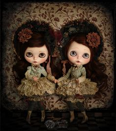 Sauco & Endrina by Rebeca Cano ~ Cookie dolls, www.cookie-dolls.com