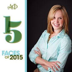 Cat Reid was named one of Alpha Phi's 15 Faces of 2015 for her incredible Emmy-winning journalism. You go Cat!