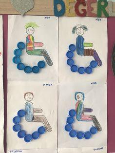 Engelliler Haftası Diversity, Montessori, Diy And Crafts, Angels
