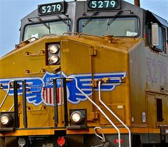 """""""Union Pacific III"""" Photograph  - card: $5.65, art prints available. #trains #railroad"""