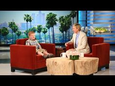 Ellen Meets the 'Apparently' Kid, Part 1 - YouTube