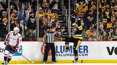 January 16, 2017 vs. Washington. Evgeni Malkin recorded his 11th-career hat trick as the #Pens exploded for 8 goals. Sidney Crosby also finished with 4 points. Final Score, 8-7 Penguins (OT).