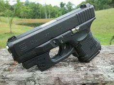Glock 26 Gen4 witth Crimson Trace Laser.