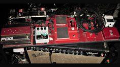 Jack white's pedalboard