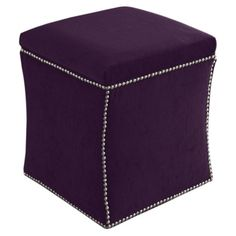 I pinned this Rabat Storage Ottoman in Aubergine from the Small Spaces, Big Style event at Joss and Main!