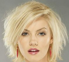 Messy bob: The messy bob will make you look sassy and sexy. This style is one of the trendiest look of bob hairstyles 2012. To get this look, let hair air dry and then scrunch the hair in the palm of your hand as it dries. Easy enough...shall attempt this soon!