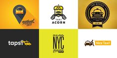 Logo Design: Taxi: http://www.playmagazine.info/logo-design-taxi/