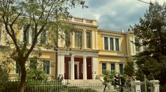 Marasleio School. (Walking Athens, Route 12 - Concert Hall) Modern City, Concert Hall, Neoclassical, Athens, The Locals, Multi Story Building, Greek, Old Things, Walking