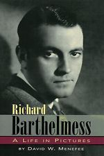 RICHARD BARTHELMESS silent movie autographed biography, brand new First Edition