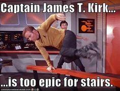 Star Trek: Captain James T. Kirk - Live long and prosper - star wars Star Trek Tos, Star Trek Original Series, Star Trek Series, Sience Fiction, James T Kirk, Star Trek Images, Funny Memes, Jokes, Chistes