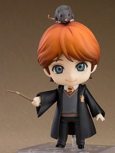 Harry Potter Ron Weasley Nendoroid From Good Smile Company Harry Potter Ron Weasley, Harry Potter Dolls, Theme Harry Potter, Harry Potter Characters, Harry Potter Action Figures, Anime Faces Expressions, Wallpaper Harry Potter, Mode Shop, Funny Pets